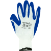 Rękawice robocze DRAGON na nylonie niebieskie (rozmiar 10)