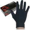 Rękawice nitrylowe bez pudrowe czarne RNITRIO L / 9 (5 par)