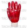 Rękawice ochronne PCV olejoodporne robocze (rozmiar 10)