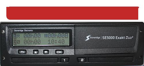 Tachograf NOWY SE5000 Exakt Duo UNIWERSALNY 12/24V | Rev. 7.6